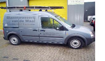 Bedrijfsauto Glazenwasserij Van de Waal