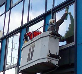 Glazenwasser Van de Waal heeft ruimt 20 jaar ervaring als glazenwasser